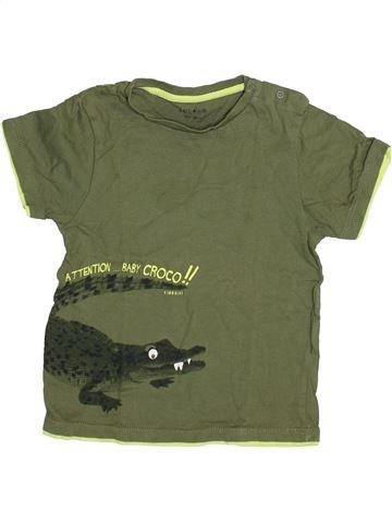 T-shirt manches courtes garçon KIMBALOO vert 3 ans été #1335977_1