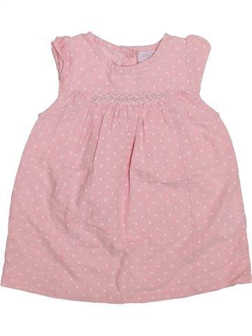 Vestido niña CADET ROUSSELLE rosa 6 meses verano #1336014_1