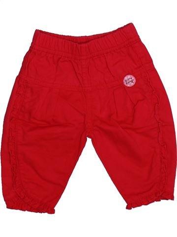 Pantalón niña SUCRE D'ORGE rojo 3 meses verano #1336269_1