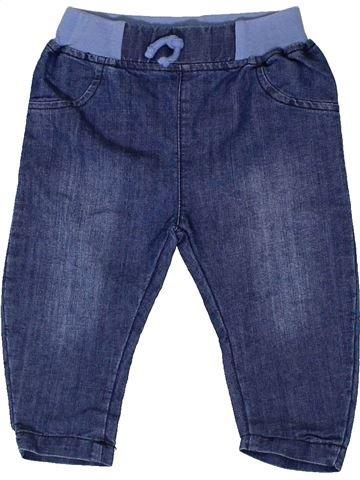 Pantalón niña PEP&CO azul 6 meses verano #1336286_1