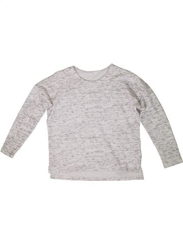 Sweat fille DUNNES STORES blanc 11 ans hiver #1336309_1