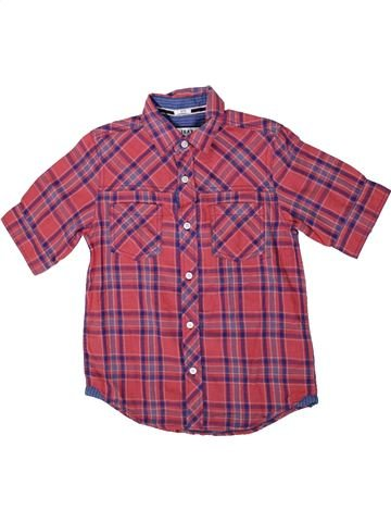 Camisa de manga corta niño DEBENHAMS violeta 10 años verano #1336948_1
