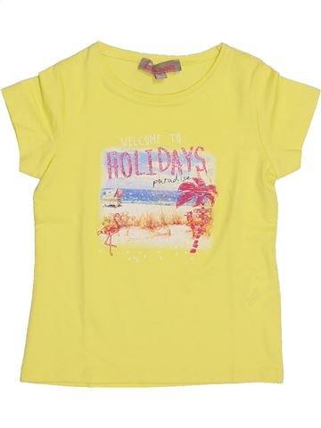 T-shirt manches courtes fille LISA ROSE jaune 3 ans été #1337071_1