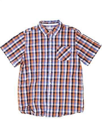 Chemise manches courtes garçon BOYS violet 13 ans été #1337617_1