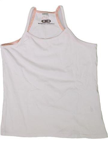 Camiseta sin mangas niña LA REDOUTE CRÉATION blanco 12 años verano #1338196_1