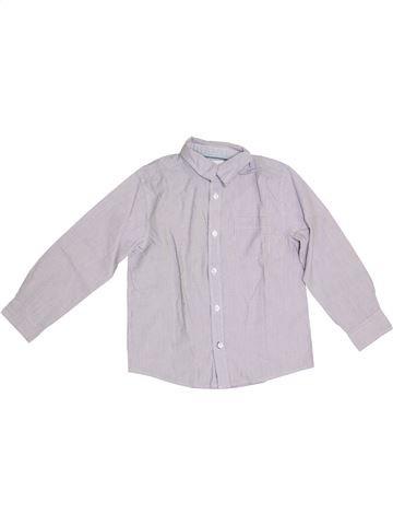 Chemise manches longues garçon CFK blanc 6 ans hiver #1338420_1