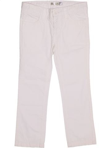 Pantalón niña CFK blanco 4 años verano #1338555_1