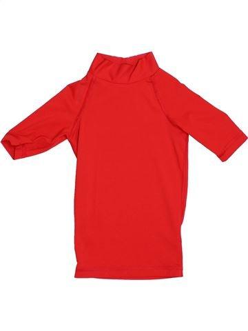 Maillot de bain garçon TRIBORD rouge 4 ans été #1338594_1
