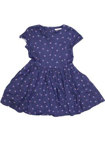 Vestido niña MONOPRIX azul 6 años verano #1339025_1