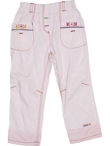 Pantalón niña KENZO blanco 3 años verano #1339224_1