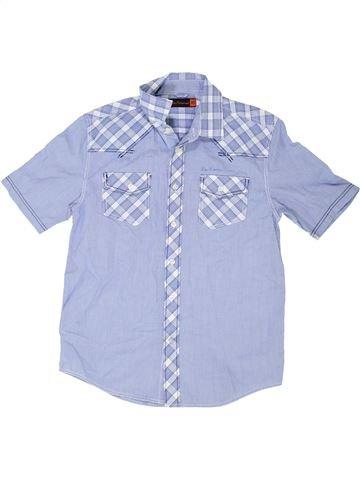 Chemise manches courtes garçon BEN SHERMAN bleu 11 ans été #1339333_1
