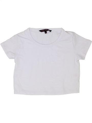 T-shirt manches courtes fille STORE TWENTY ONE blanc 12 ans été #1339733_1
