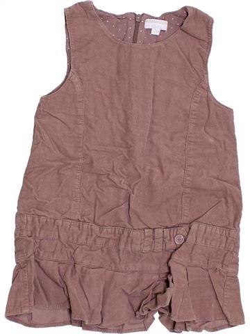 Vestido niña KIMBALOO marrón 2 años invierno #1339871_1