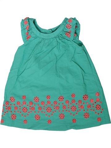 Robe fille BLUEZOO vert 2 ans été #1340014_1