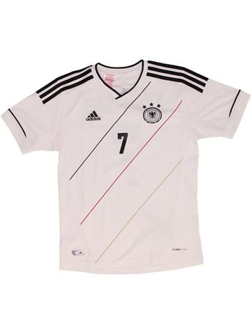 Camiseta deportivas unisex ADIDAS blanco 12 años verano #1340116_1