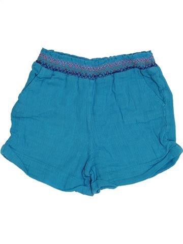 Short - Bermuda fille DPAM bleu 6 mois été #1340704_1