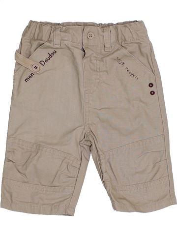 Pantalón niño TOUT COMPTE FAIT gris 3 meses verano #1341496_1