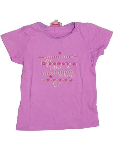 T-shirt manches courtes fille LISA ROSE rose 3 ans été #1341811_1