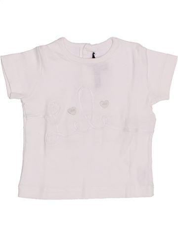 Camiseta de manga corta niña LILI GAUFRETTE blanco 18 meses verano #1341964_1