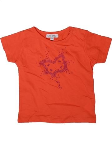 Camiseta de manga corta niña IN EXTENSO rojo 12 meses verano #1342127_1