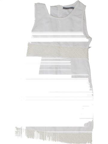 Robe fille LE PHARE DE LA BALEINE blanc 10 ans été #1342218_1