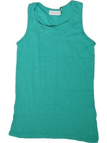 T-shirt sans manches fille TAMMY vert 11 ans été #1342513_1