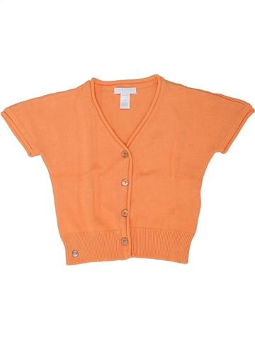 Gilet fille OBAIBI orange 2 ans été #1342952_1