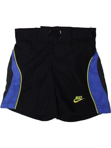 Pantalon corto deportivos niño NIKE negro 8 años verano #1343029_1