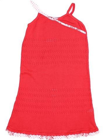 Vestido niña CLAYEUX rojo 8 años invierno #1343672_1