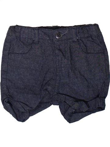 Short-Bermudas niña LA REDOUTE CRÉATION azul 3 meses verano #1343859_1