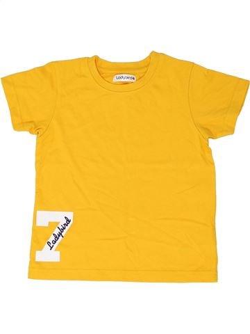 T-shirt manches courtes garçon LADYBIRD jaune 3 ans été #1344047_1