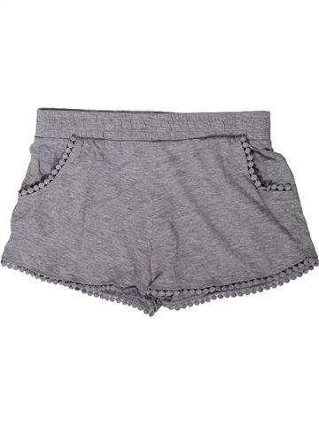 Short - Bermuda fille I LOVE GIRLSWEAR gris 11 ans été #1344284_1