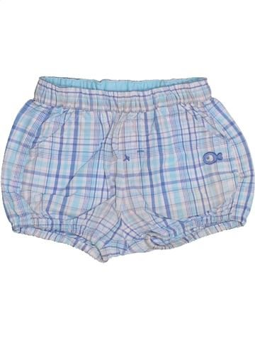 Short - Bermuda garçon OKAIDI bleu 1 mois été #1344332_1
