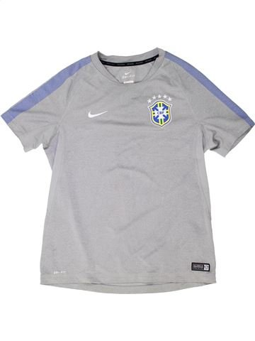 Camiseta deportivas niño NIKE gris 13 años verano #1344344_1