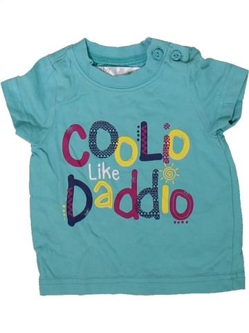 Camiseta de manga corta niño M&CO verde 3 meses verano #1344861_1