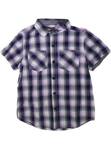 Chemise manches courtes garçon URBAN 65 OUTLAWS violet 7 ans été #1345069_1