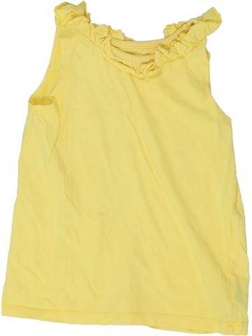 Camiseta sin mangas niña MOTHERCARE amarillo 3 años verano #1345557_1