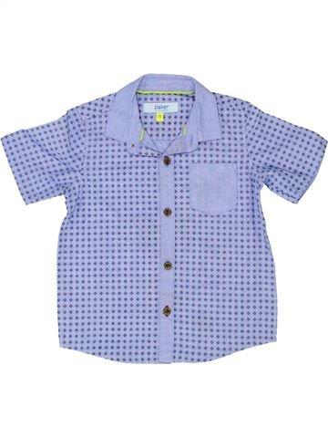 Chemise manches courtes garçon TED BAKER violet 3 ans été #1345670_1