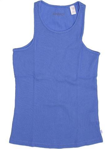 T-shirt sans manches fille OKAIDI bleu 12 ans été #1345754_1