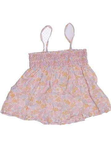 Blusa de manga corta niña MONOPRIX rosa 4 años verano #1346767_1