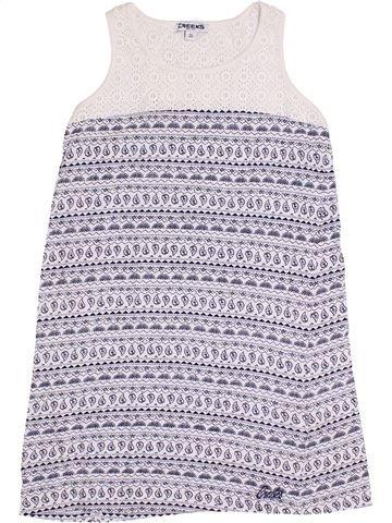 Vestido niña CREEKS blanco 10 años verano #1347186_1
