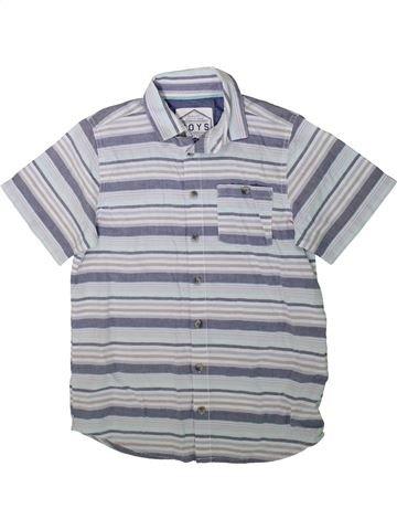 Chemise manches courtes garçon AWESOME APPAREL bleu 11 ans été #1347554_1