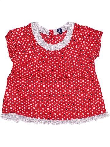Blusa de manga corta niña TERRE DE MARINS rosa 6 años verano #1347760_1