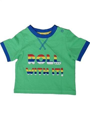 T-shirt manches courtes garçon TU vert 3 mois été #1347795_1