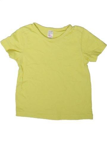 T-shirt manches courtes garçon MINI CLUB jaune 3 ans été #1347815_1