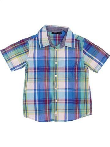 Chemise manches courtes garçon MEXX bleu 6 ans été #1347894_1