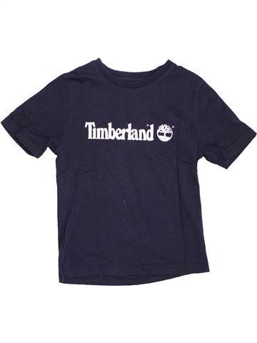 T-shirt manches courtes garçon TIMBERLAND noir 6 ans été #1347896_1