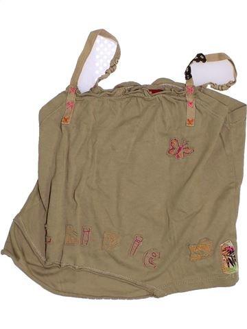 T-shirt sans manches fille CHIPIE marron 6 ans été #1347944_1