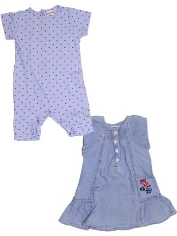 Conjunto niña 3 POMMES violeta 6 meses verano #1347998_1