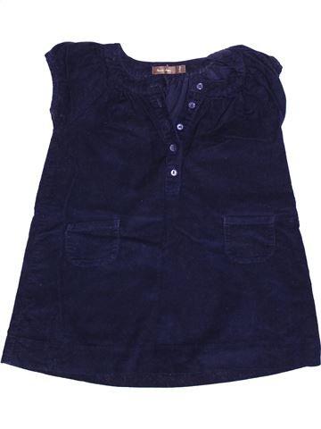 Robe fille BOUT'CHOU bleu 2 ans hiver #1348311_1
